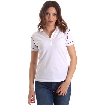Oblačila Ženske Polo majice kratki rokavi La Martina NWP002 PK001 Biely