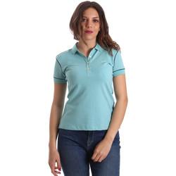 Oblačila Ženske Polo majice kratki rokavi La Martina NWP002 PK001 Modra