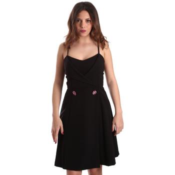 Oblačila Ženske Kratke obleke Gaudi 911FD15005 Črna
