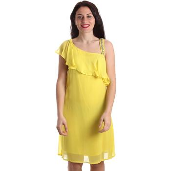 Oblačila Ženske Kratke obleke Gaudi 911FD15011 Rumena
