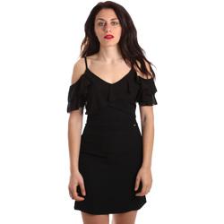 Oblačila Ženske Kratke obleke Gaudi 911FD15049 Črna