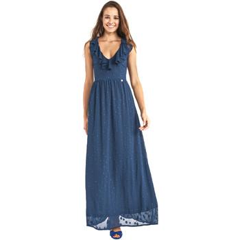 Oblačila Ženske Dolge obleke Gaudi 911BD15007 Modra