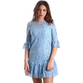 Oblačila Ženske Kratke obleke Gaudi 911BD15009 Modra