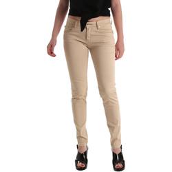 Oblačila Ženske Jeans skinny Gaudi 911BD25010 Bež