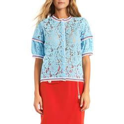 Oblačila Ženske Topi & Bluze Gaudi 911BD55001 Modra