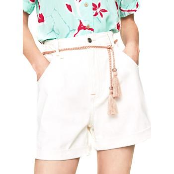Oblačila Ženske Kratke hlače & Bermuda Pepe jeans PL800852 Biely