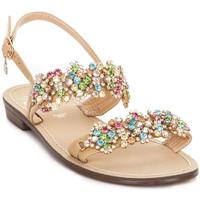 Čevlji  Ženske Sandali & Odprti čevlji Gold&gold A19 GL306 Rjav