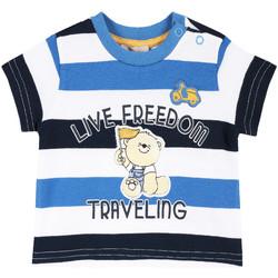 Oblačila Otroci Majice s kratkimi rokavi Chicco 09006664000000 Biely