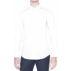 Oblačila Moški Srajce z dolgimi rokavi Antony Morato MMSL00375 FA450001 Biely