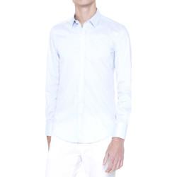 Oblačila Moški Srajce z dolgimi rokavi Antony Morato MMSL00375 FA450001 Modra