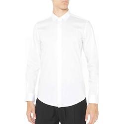 Oblačila Moški Srajce z dolgimi rokavi Antony Morato MMSL00293 FA450001 Biely