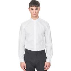Oblačila Moški Srajce z dolgimi rokavi Antony Morato MMSL00604 FA440031 Biely