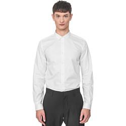 Oblačila Moški Srajce z dolgimi rokavi Antony Morato MMSL00596 FA400072 Biely
