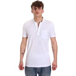 Oblačila Moški Polo majice kratki rokavi Antony Morato MMKS01741 FA120022 Biely