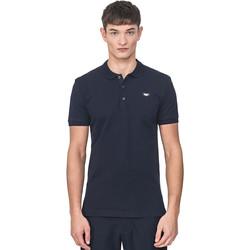 Oblačila Moški Polo majice kratki rokavi Antony Morato MMKS01738 FA100083 Modra