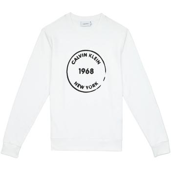 Oblačila Moški Puloverji Calvin Klein Jeans K10K104548 Biely