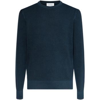 Oblačila Moški Puloverji Calvin Klein Jeans K10K104721 Modra