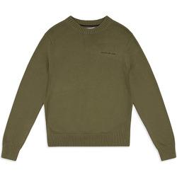 Oblačila Moški Puloverji Calvin Klein Jeans J30J313480 Zelena