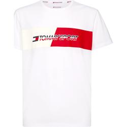 Oblačila Moški Majice s kratkimi rokavi Tommy Hilfiger S20S200197 Biely