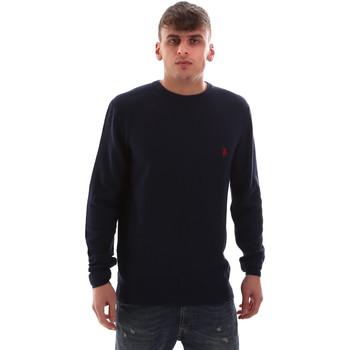 Oblačila Moški Puloverji U.S Polo Assn. 52470 52612 Modra