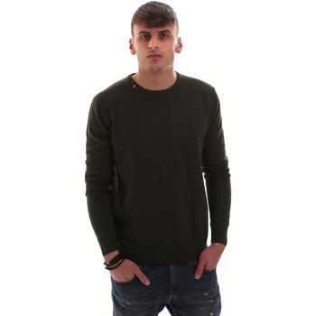 Oblačila Moški Puloverji U.S Polo Assn. 52376 52228 Zelena