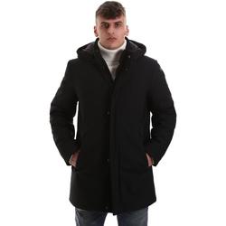Oblačila Moški Plašči Navigare NV68081 Črna
