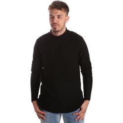 Oblačila Moški Puloverji Gaudi 921FU53025 Črna