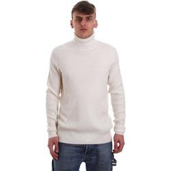 Oblačila Moški Puloverji Gaudi 921FU53048 Biely