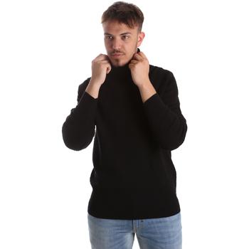 Oblačila Moški Puloverji Gaudi 921FU53048 Črna