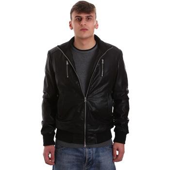 Oblačila Moški Usnjene jakne & Sintetične jakne Gaudi 921BU38001 Črna