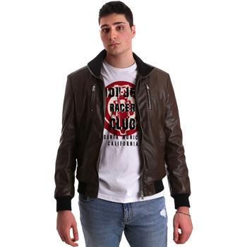 Oblačila Moški Usnjene jakne & Sintetične jakne Gaudi 921BU38001 Rjav