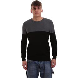 Oblačila Moški Puloverji Gaudi 921BU53010 Črna