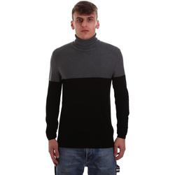 Oblačila Moški Puloverji Gaudi 921BU53011 Črna