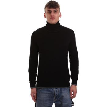 Oblačila Moški Puloverji Gaudi 921BU53040 Črna