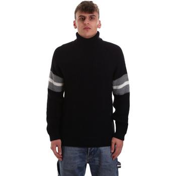 Oblačila Moški Puloverji Gaudi 921BU53050 Modra