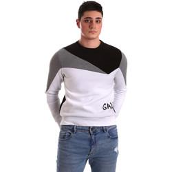 Oblačila Moški Puloverji Gaudi 921BU64049 Biely