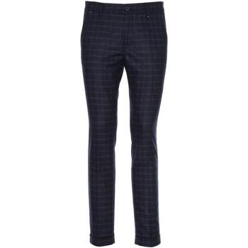 Oblačila Moški Elegantne hlače NeroGiardini A970573U Modra
