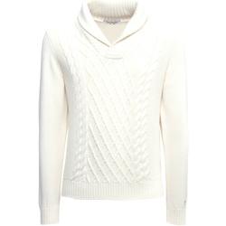 Oblačila Moški Puloverji NeroGiardini A974530U Biely