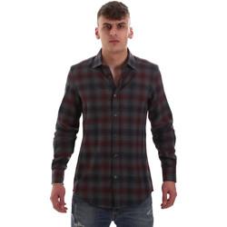 Oblačila Moški Srajce z dolgimi rokavi Antony Morato MMSL00548 FA410091 Siva