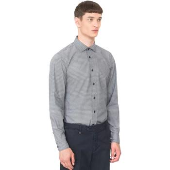 Oblačila Moški Srajce z dolgimi rokavi Antony Morato MMSL00548 FA430389 Modra