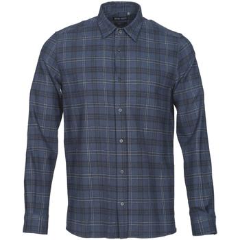 Oblačila Moški Srajce z dolgimi rokavi Antony Morato MMSL00551 FA410123 Modra