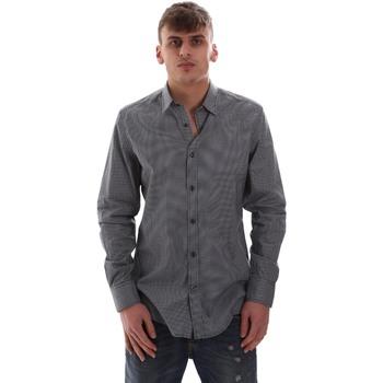 Oblačila Moški Srajce z dolgimi rokavi Antony Morato MMSL00574 FA430158 Modra