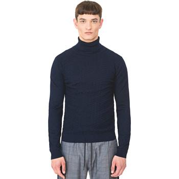 Oblačila Moški Puloverji Antony Morato MMSW00977 YA200055 Modra