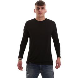 Oblačila Moški Majice z dolgimi rokavi Antony Morato MMKL00264 FA100066 Črna
