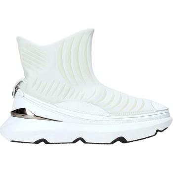 Čevlji  Moški Visoke superge Ea7 Emporio Armani X8Z019 XK121 Biely