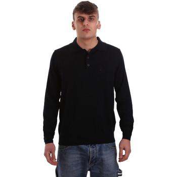 Oblačila Moški Polo majice dolgi rokavi Navigare NV11006 40 Modra