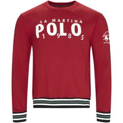 Oblačila Moški Puloverji La Martina OMF312 FP175 Rdeča