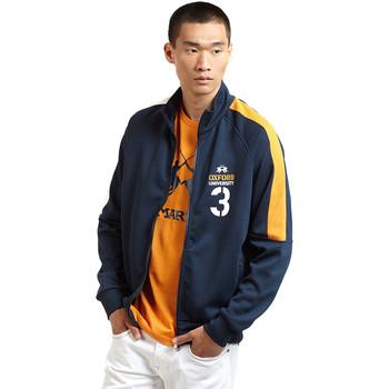 Oblačila Moški Športne jope in jakne La Martina OMF606 FP077 Modra