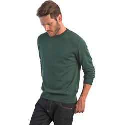 Oblačila Moški Puloverji La Martina OMS005 YW020 Zelena
