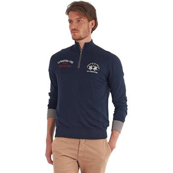 Oblačila Moški Puloverji La Martina OMS317 YW025 Modra